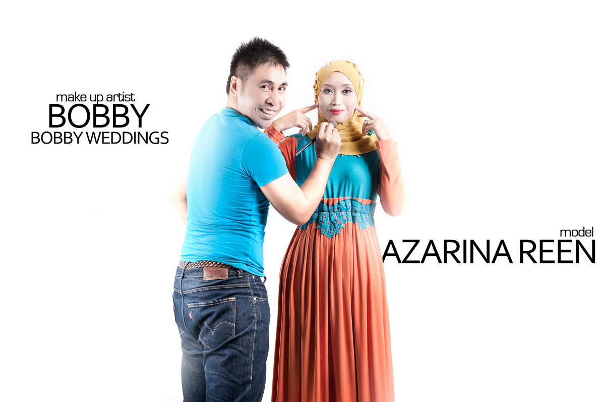 Make up by Bobby of Bobby Wedding, Model: Azarina Reen